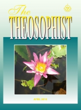 Theosophist Cover Volume 131 Number 07