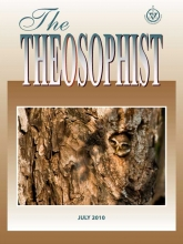 Theosophist Cover Volume 131 Number 10