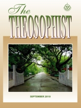 Theosophist Cover Volume 131 Number 12