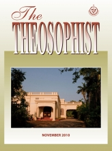 Theosophist Cover Volume 132 Number 02