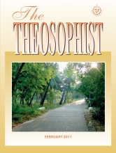 Theosophist Cover Volume 132 Number 05