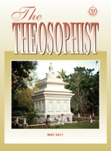 Theosophist Cover Volume 132 Number 08