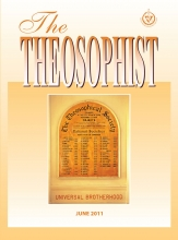 Theosophist Cover Volume 132 No 09