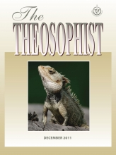 Theosophist Cover Volume 133 No 03