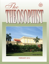 Theosophist Cover Volume 133 No 05