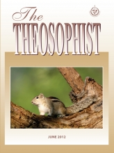 Theosophist Cover Volume 133 No 09