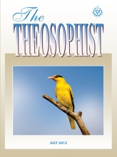 Theosophist Cover Volume 133 No 10
