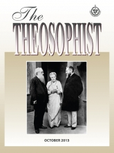 Theosophist Cover Volume 135 No 01 Oct 2014