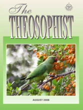 Theosophist Aug 2008 Cover Image