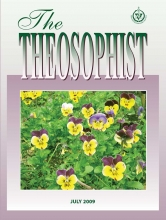 Theosophist Jul 2009 Cover image