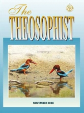 Theosophist Nov 2008 Cover image