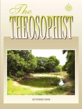 Theosophist Oct 2008 Cover image