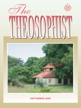 Theosophist Sep 2009 Cover image